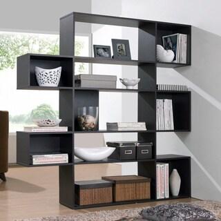 Baxton Studio Lanahan Espresso 5-level Modern Display Shelf