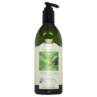 Avalon Organics Aloe Unscented 12-ounce Hand and Body Lotion
