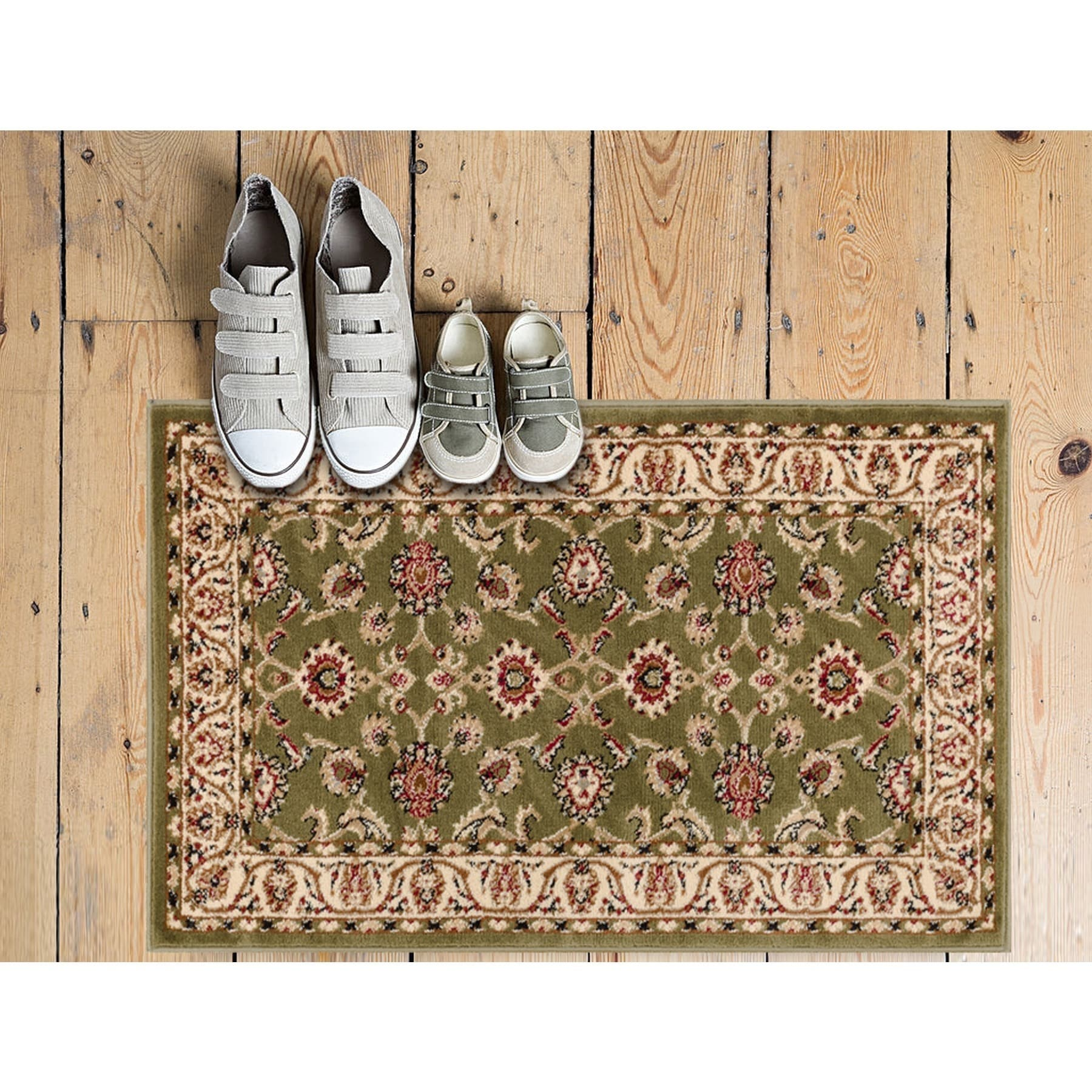 Well Woven Ariana Palace Green Rug (2'3 x 3'11), Multi, S...