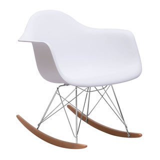 White Rocket Chair