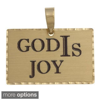 Simon Frank 'God IS Joy' Religous Charm Pendant
