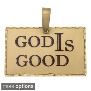 Simon Frank 'God IS Good' Religous Charm Pendant