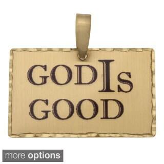 Simon Frank 'God IS Good' Religous Charm Pendant