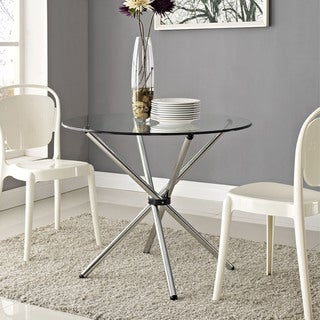 'Baton' Clear Dining Table