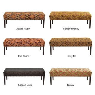 Link to Roxanne Nail Trim Bench Similar Items in Living Room Furniture