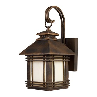 Blackwell Hazelnut Bronze 1-Light Outdoor Sconce