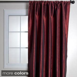 Classic Faux Silk Taffeta Curtain Panel