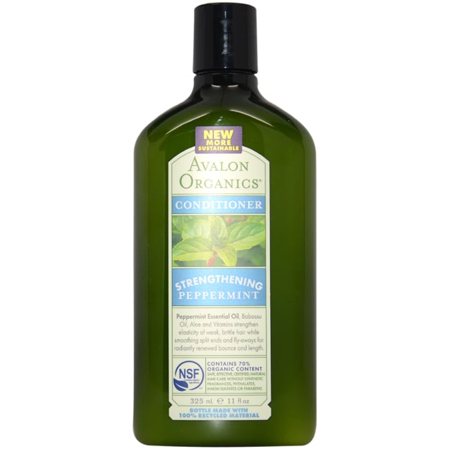 Avalon Organic Strengthening Peppermint 11-ounce Conditio...