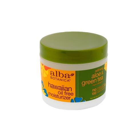 Alba Botanica Hawaiian Green Tea Oil Free 3-ounce Moisturizer
