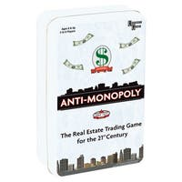 University Games Anti-Monopoly Game Travel Tin