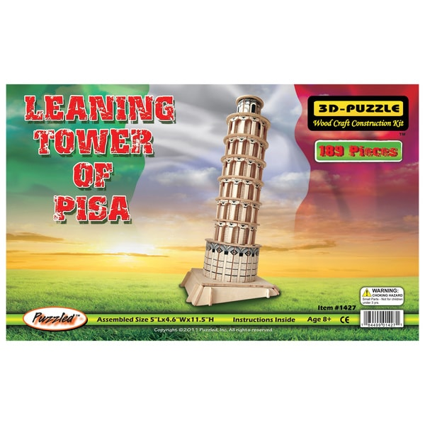 Puzzled Leaning Tower of Pisa