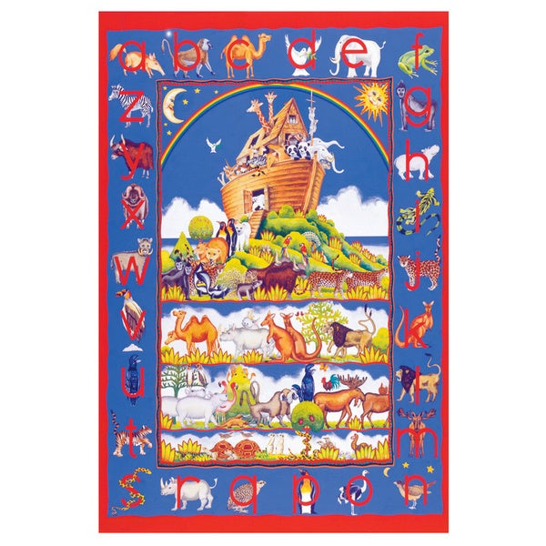 SunsOut Animal Alphabet Large Piece Floor Puzzle