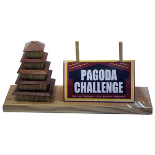 Square Root Pagoda Challenge Game