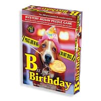 B is for Birthday Murder Mystery 1000-piece Jigsaw Puzzle