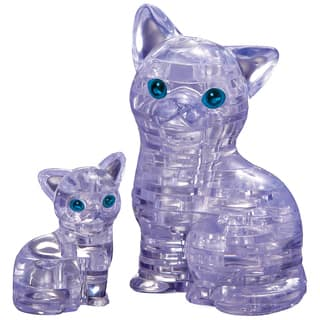 3D Crystal Cat with Kitten Puzzle|https://ak1.ostkcdn.com/images/products/8648819/P15909915.jpg?impolicy=medium