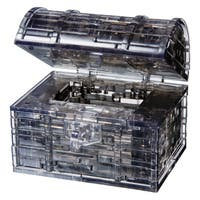 Black Treasure Chest 52-piece 3D Crystal Puzzle