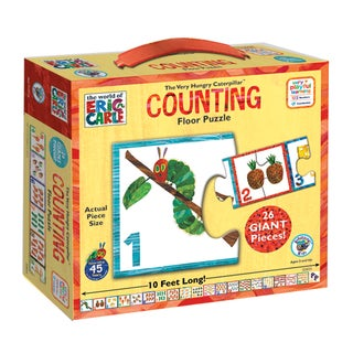 The Very Hungry Caterpillar 26-piece Counting Floor Puzzle
