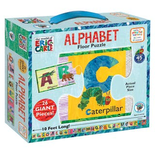 The World of Eric Carle 'Alphabet' 26-piece Floor Puzzle|https://ak1.ostkcdn.com/images/products/8648829/The-World-of-Eric-Carle-Alphabet-26-piece-Floor-Puzzle-P15909924.jpg?impolicy=medium