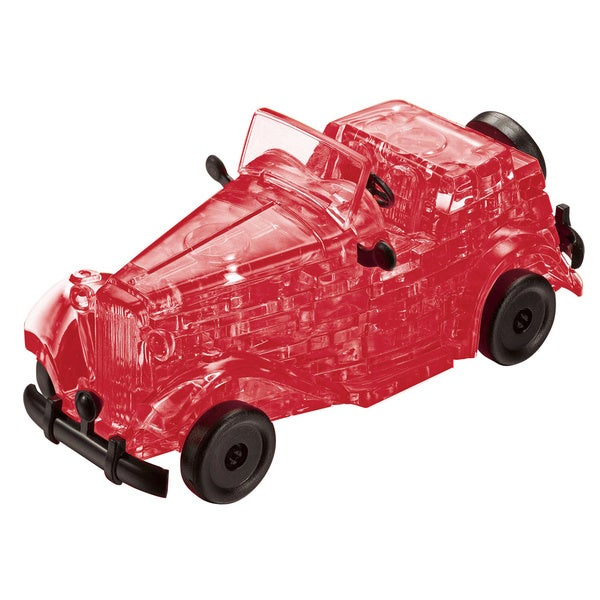 Bepuzzled Red Classic Car 53-piece 3D Crystal Puzzle