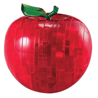Bepuzzled Red Apple 44-piece 3D Crystal Puzzle