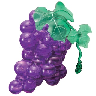 Bepuzzled Purple Grapes 39-piece 3D Crystal Puzzle