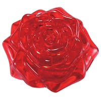 Bepuzzled Red Rose 44-piece 3D Crystal Puzzle