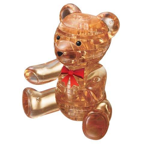 Bepuzzled Gold Teddy Bear 41-piece 3D Crystal Puzzle