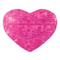 Bepuzzled Pink Heart 45-piece 3D Crystal Puzzle