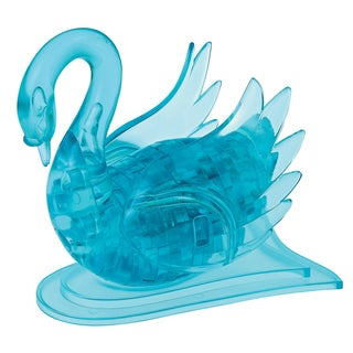 Bepuzzled Blue Swan 43-piece 3D Crystal Puzzle
