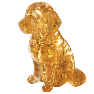 Bepuzzled Puppy Dog 40-piece 3D Crystal Puzzle