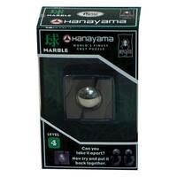 Bepuzzled Hanayama Level 4 Marble Cast Puzzle - Black