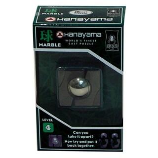Bepuzzled Hanayama Level 4 Marble Cast Puzzle