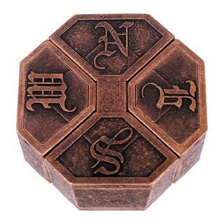 Hanayama Level 6 NEWS Cast Puzzle