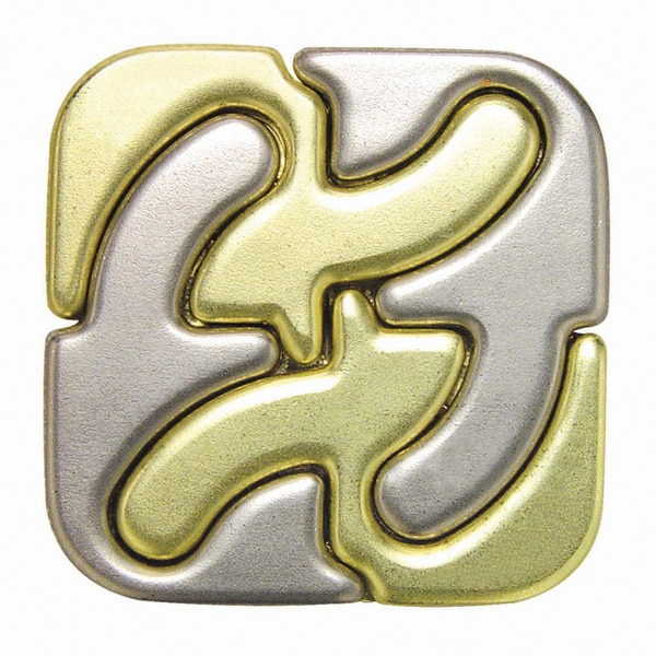 Hanayama Level 6 Square Cast Puzzle