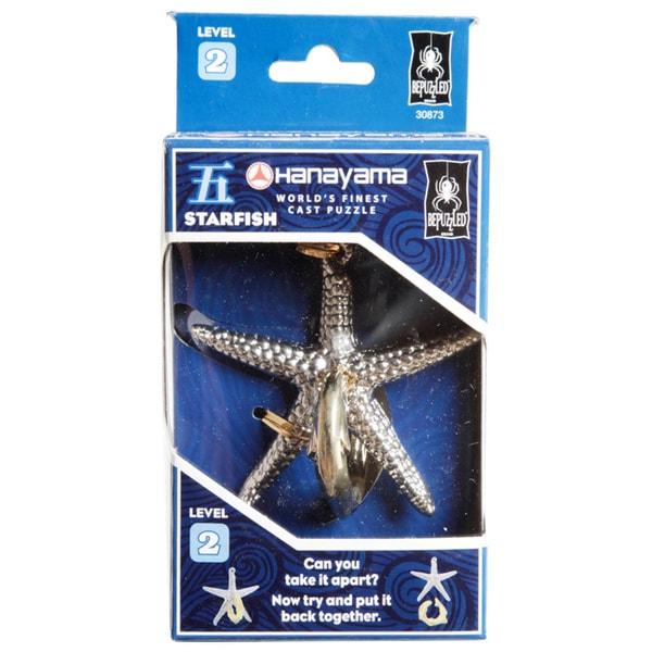 Hanayama Level 2 Starfish Cast Puzzle