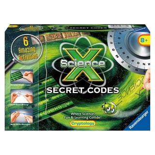 Science X Secret Codes Kit