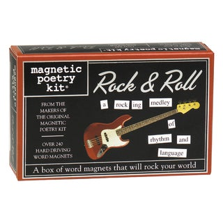 Magnetic Poetry Rock and Roll Kit