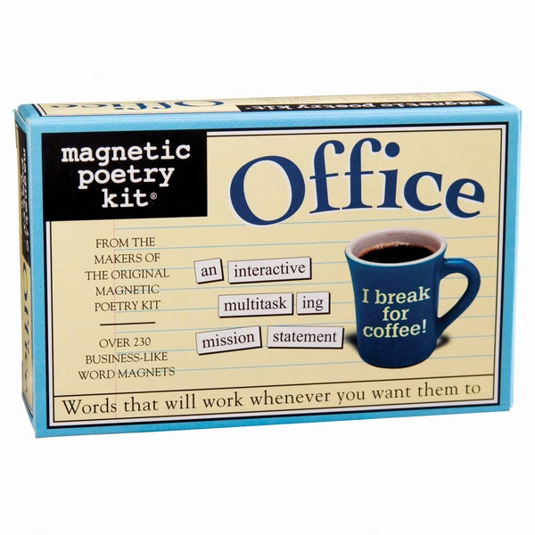 Magnetic Poetry Kit Office Game