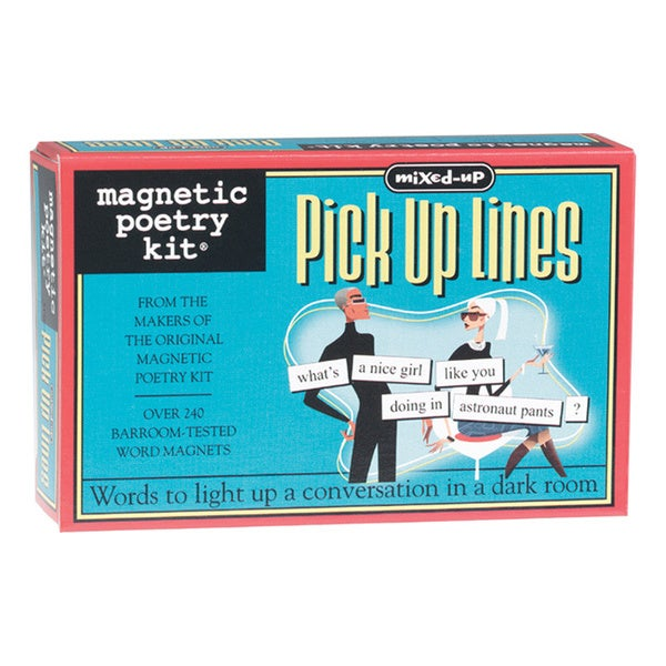 Magnetic Poetry Kit: Mixed Up Pick Up Lines