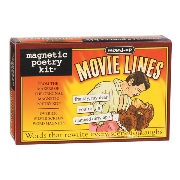 Magnetic Poetry Kit: Mixed Up Movie Lines