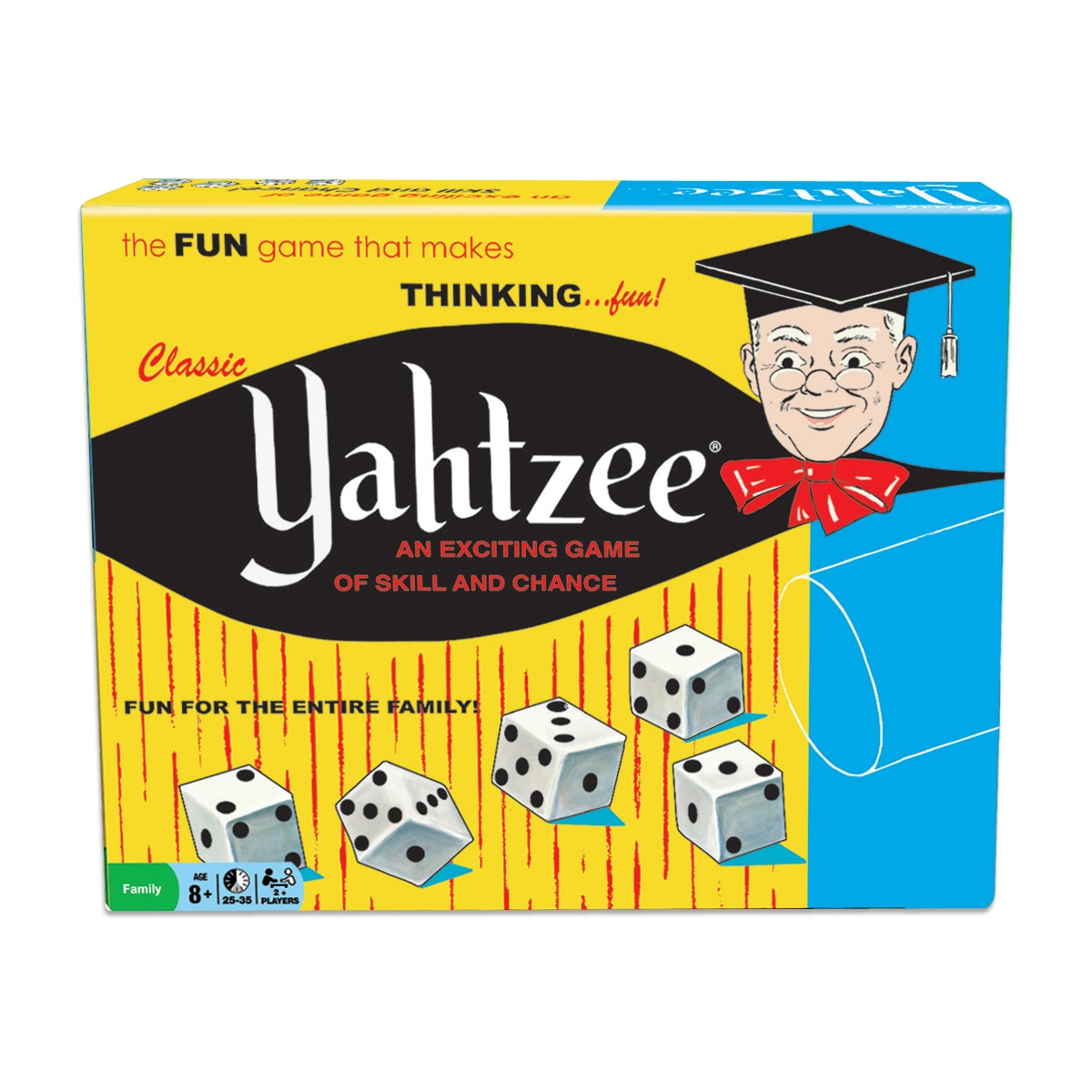 Winning Moves Classic Yahtzee Game (Classic Yahtzee), Sil...