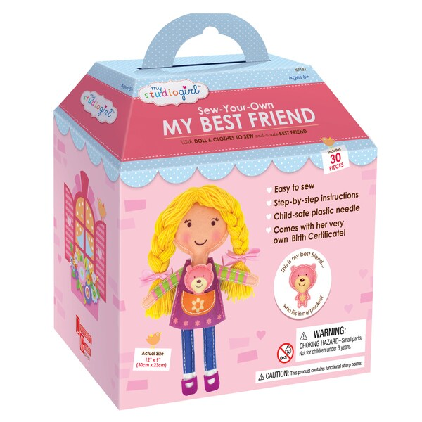 My Studio Girl 'Sew-Your-Own Blonde My Best Friend' Set