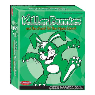 Killer Bunnies and the Quest for the Magic Carrot: Green Booster Deck (6)|https://ak1.ostkcdn.com/images/products/8649052/P15909759.jpg?impolicy=medium