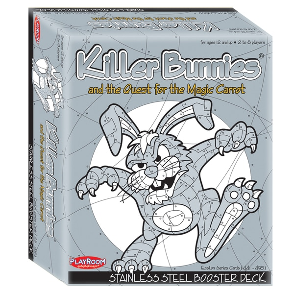Killer Bunnies and the Quest for the Magic Carrot: Stainless Steel Booster Deck (8)
