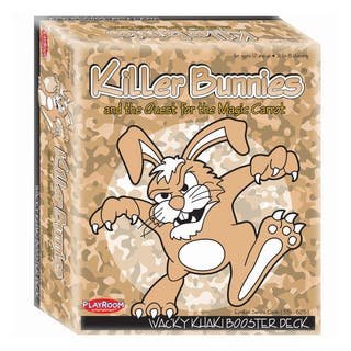 Killer Bunnies and the Quest for the Magic Carrot: Wacky Khaki Booster Deck (10)|https://ak1.ostkcdn.com/images/products/8649056/P15909762.jpg?impolicy=medium