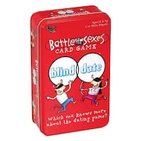 Battle of the Sexes 'Blind Date' Card Game in a Tin