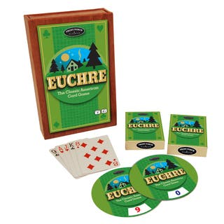 Euchre: The Classic American Card Game|https://ak1.ostkcdn.com/images/products/8649099/Euchre-The-Classic-American-Card-Game-P15909792.jpg?impolicy=medium