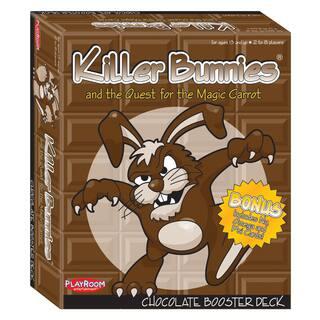 Killer Bunnies and the Quest for the Magic Carrot: Chocolate Booster Deck|https://ak1.ostkcdn.com/images/products/8649126/Killer-Bunnies-and-the-Quest-for-the-Magic-Carrot-Chocolate-Booster-Deck-P15909817.jpg?impolicy=medium