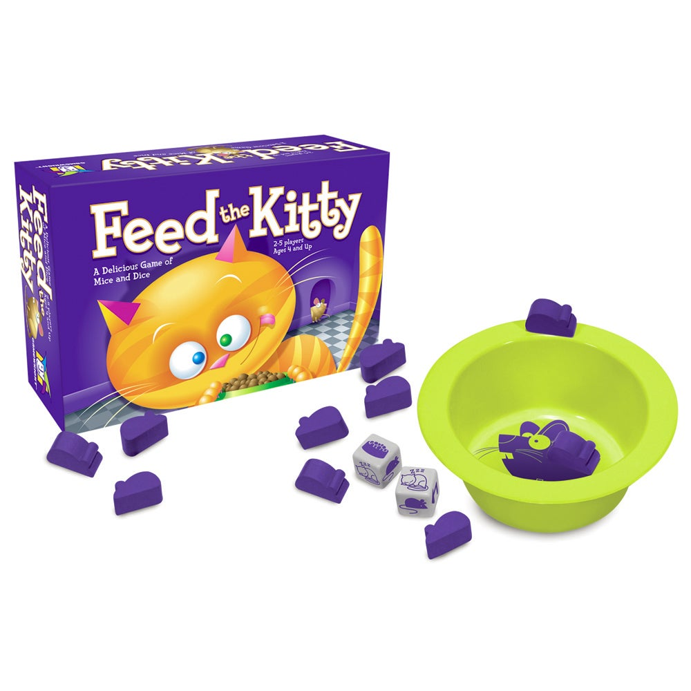 Ceaco Feed the Kitty Board Game (Feed the Kitty)