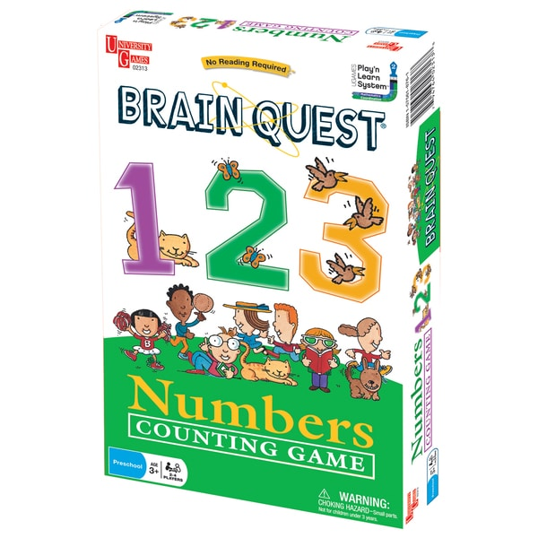Brain Quest Play'n Learn 123 Numbers Counting Game